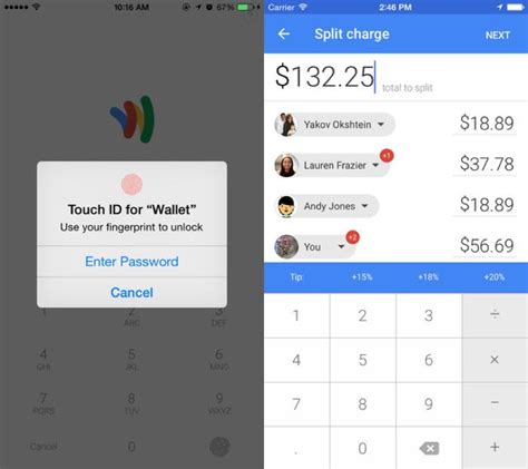 How To Use Google Wallet Gift Card - google wallet for iphone adds touchid support