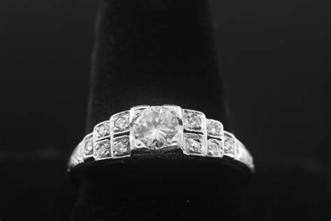 biography of artist diamond selling vintage 1930 s art deco engagement rings with 10