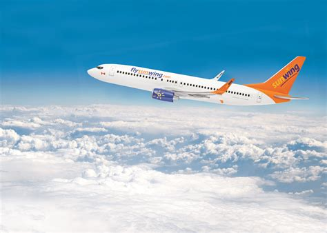sunwing free seat selection sunwing increases domestic summer schedule to offer a new