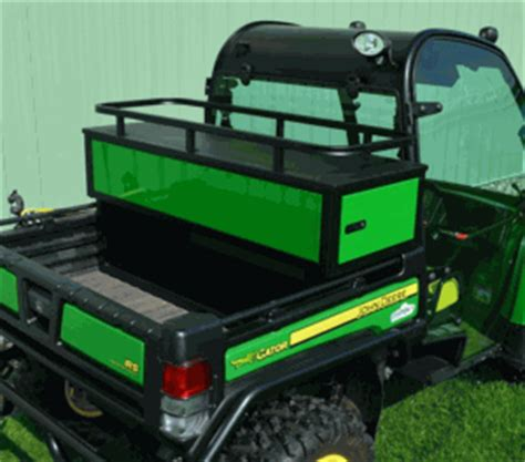 crossover storage cabinet w/ drawers for john deere gator