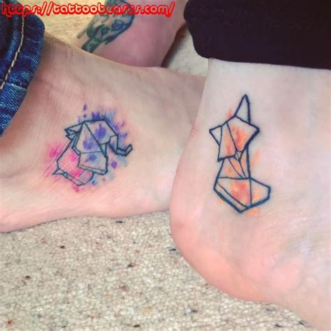 best friend tattoos unique ideas bff
