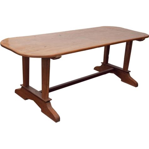 Plank Top Dining Tables Rustic Dining Table Made Of Solid Molave Wood With Single Plank Top Antique Tables Pinterest