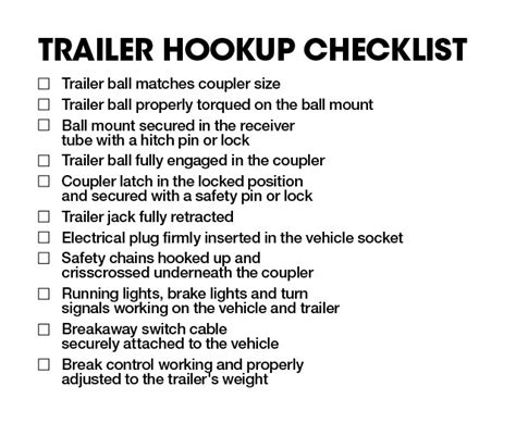 towing 101 chapter 9 hooking up your trailer
