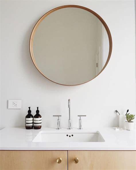 Modern Mirrors For Bathroom by Mirror In Minimalistic Bathroom Home Bathroom