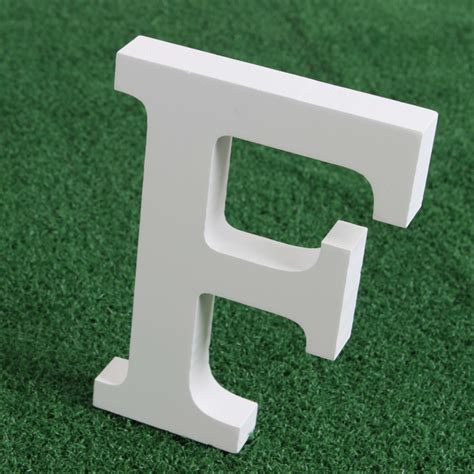 decorative letters for home free standing wooden wood white letters alphabet word free standing