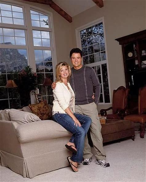 in their home donny osmond