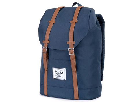 Herschel Macbook Tas herschel retreat rugzak laptoptas navy