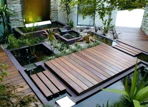 decking patio lawn floating deck ground level framing