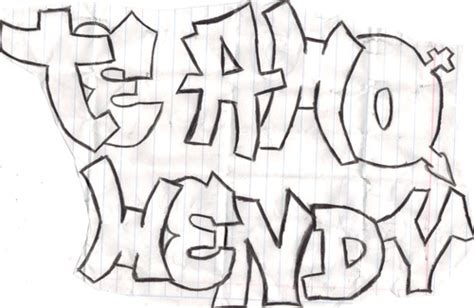 imagenes que digan hola wendy grafitis del nombre wendy imagui