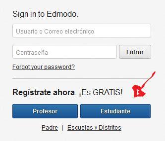 tutorial para registrarse en edmodo como registrarse en edmodo en espa 241 ol gratis crear