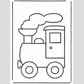 Train Outline Clipart | ClipArtHut - Free Clipart