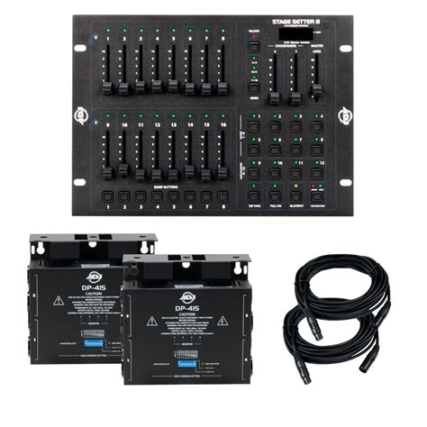 stage light dimmer controller adj stage pak 1 controller dimmer pack