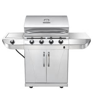 bbq grills at lowes char broil 4 burner 40 000 btu gas grill with