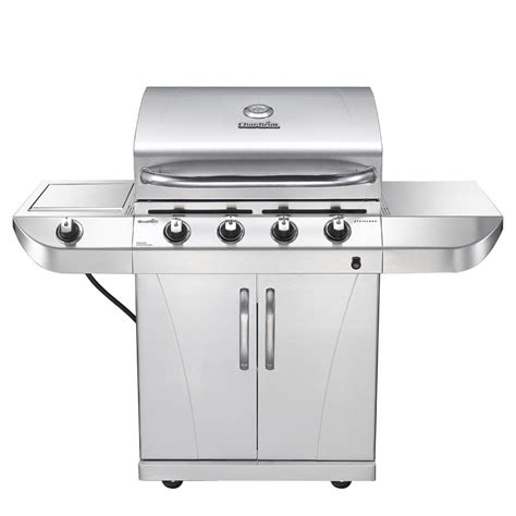 char broil 4 burner 40 000 btu gas grill with - Lowes Gas Grills