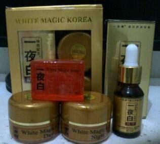Korea Serum Paket paket white magic serum korea toserbajkt