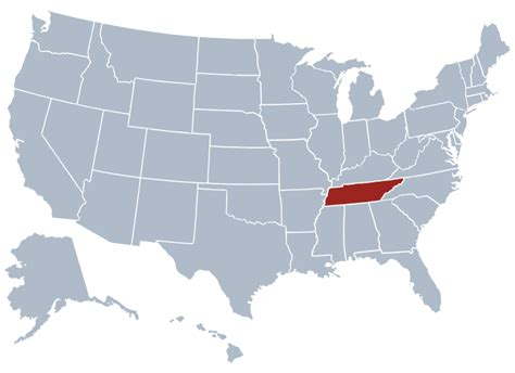 us map states tennessee tennessee state information symbols capital