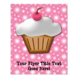 cupcake business flyers cupcake business flyer templates cupcake business