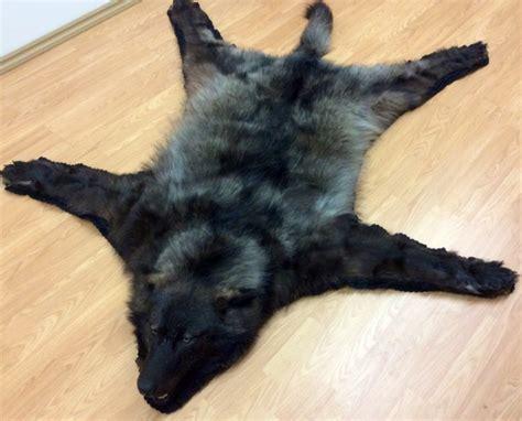wolf fur rug rugs ideas
