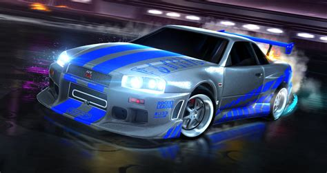 nissan skyline fast and furious steam community rocket league