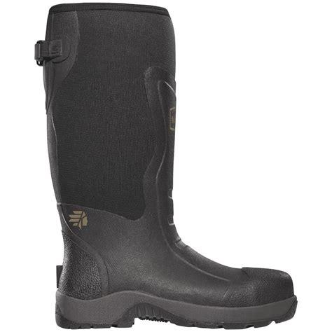 s lacrosse 174 alpha mudlite 16 quot steel toe work boots