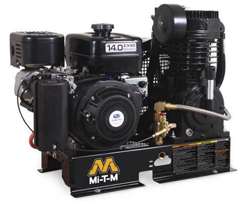 mi t m stationary gas air compressors