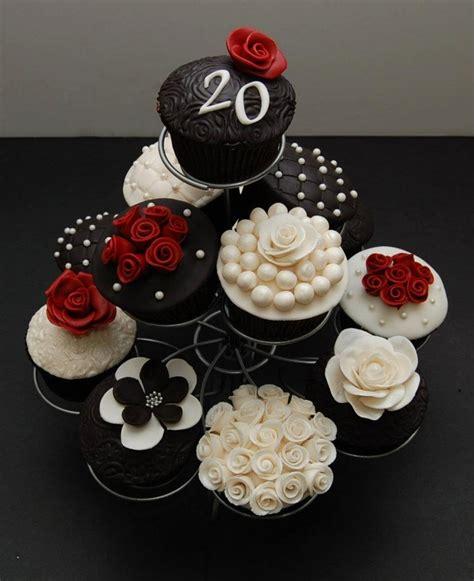 Cupcake Wedding Anniversary 20th wedding anniversary cupcakes cakecentral