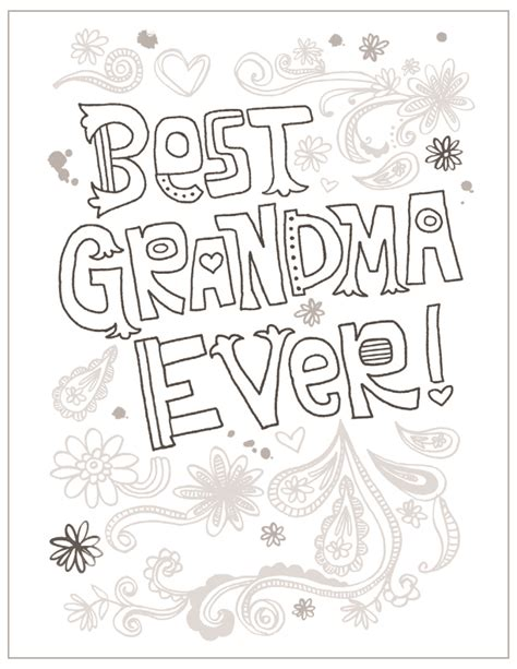 printable coloring pages for grandma mothers day diploma coloring pages coloring pages