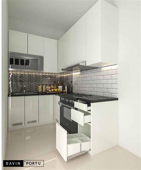 jual kitchen set hpl  klien  setu indah cipayung