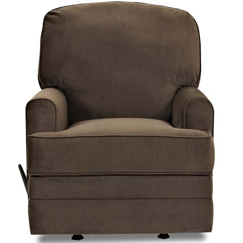 gliding recliner callahan casual swivel gliding recliner with track arms by