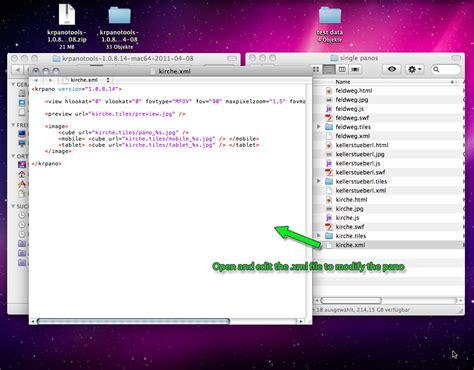 quick tutorial on xml krpano com documentation quick start tutorial