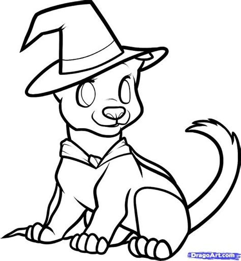 halloween coloring pages dog 42 best drawings images on pinterest to draw draw and