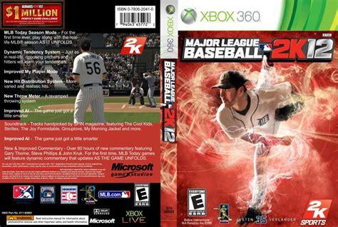 mlb 2k12 2013 roster update xbox 360 major league baseball 2k12 xbox 360 game covers major