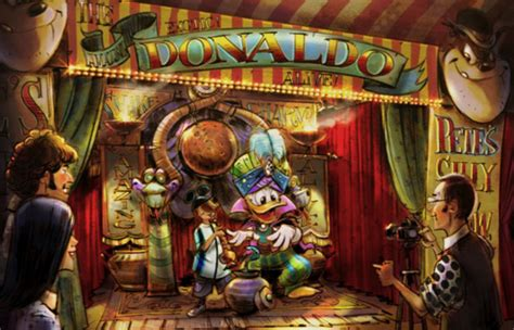 new storybook circus concept offers more details for minnie donald goofy to greet guests at pete s