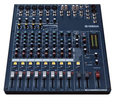 Terbaru Mixer Yamaha Mg124cx mg124cx yamaha