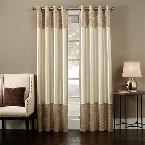bed bath and beyond curtain panels milano grommet window curtain panel bed bath beyond