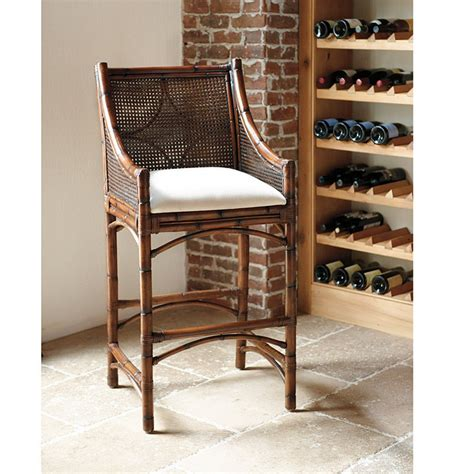 cane bar stool bella cane bar stool chairs seating ballard designs