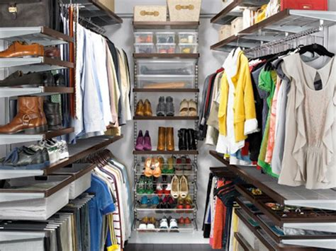 walk in closet organization ideas closet storage ideas hgtv