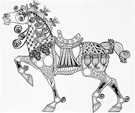 zentangle pattern horse 1000 images about zentangled animals horse on pinterest