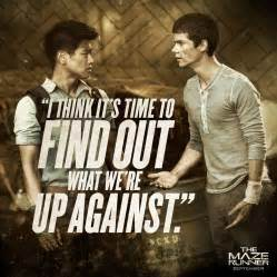 ด หน งthe maze runner thomas maze runner quotes quotesgram