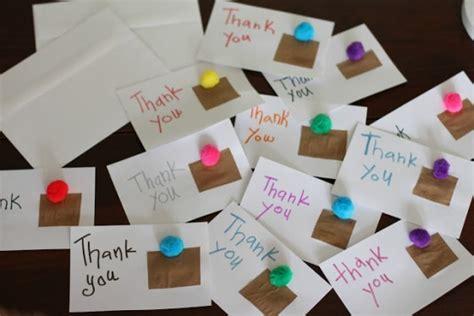 thank you cards for children to make crafty diy thank you cards classic play