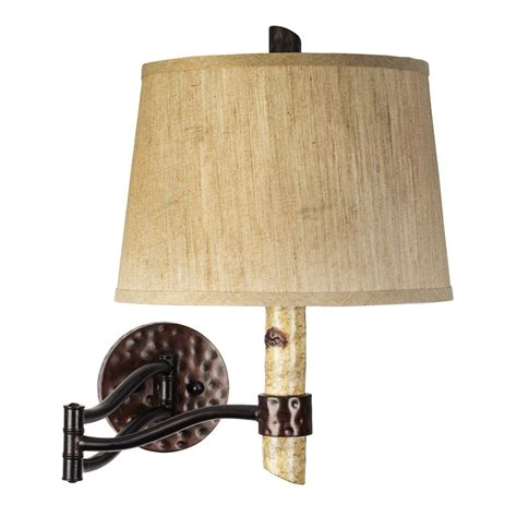 Light Rustic Swing Arm Rare Sconces Wall Ls From Black