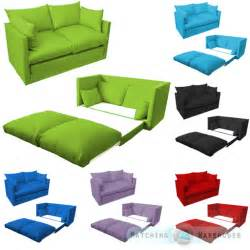 Sofa Bed For Children Children S Sofa Foldout Z Bed Boys Seating Seat Sleepover Futon Guest Ebay