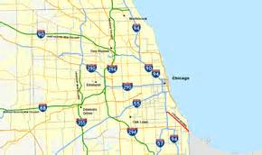 Chicago Skyway Map by Chicago Skyway The Full Wiki