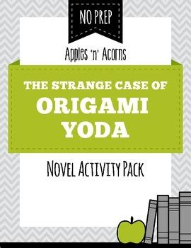 The Strange Of Origami Yoda Reading Level - the strange of origami yoda by apples n acorns tpt