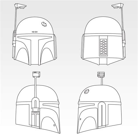 mandalorian armors and templates on boba fett character sketch search boba fett