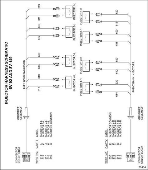detroit series 60 ecm wiring diagram fuse box and wiring