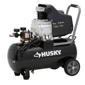 home depot husky air compressor husky 8 gallon portable electric air compressor 74 00