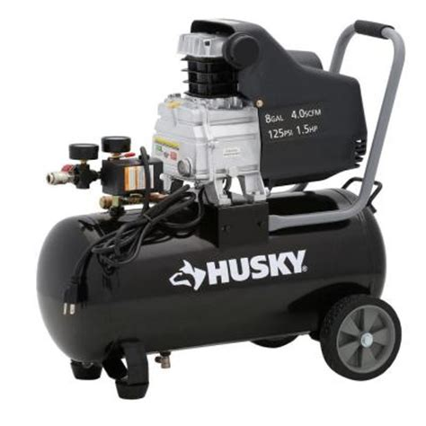 husky 8 gallon portable electric air compressor 74 00