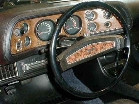 1970 camaro dash