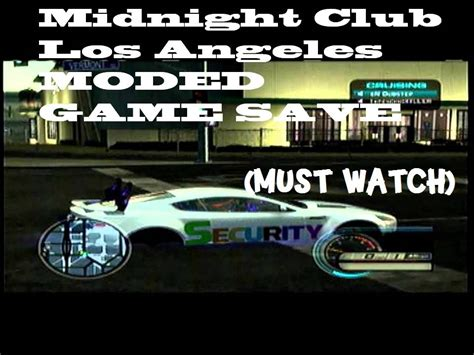 best car mod game xbox midnight club la best mods game save download xbox 360
